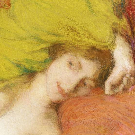 8aeba43af5102 Farniente ou Etude de femme drapée les mains levées by Aman-Jean Edmond.  Product details