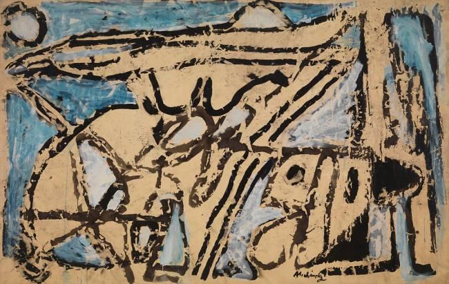 Au pays de l\'encre by Pierre Alechinsky – Art print, wall art ...