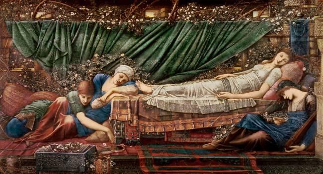 Image result for sleeping beauty burne-jones