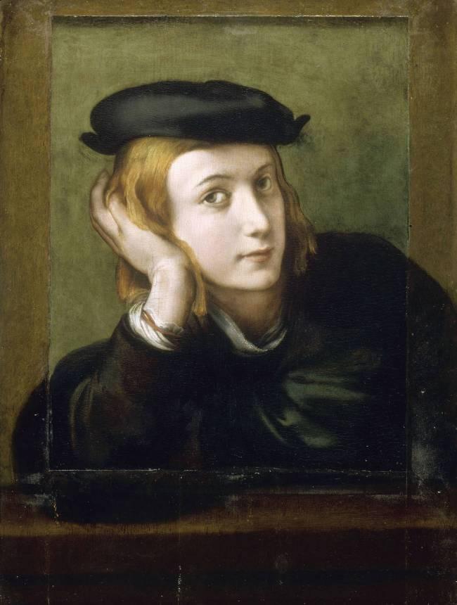 Portrait de jeune homme autoportrait by corr ge le - Peinture chambre jeune homme ...