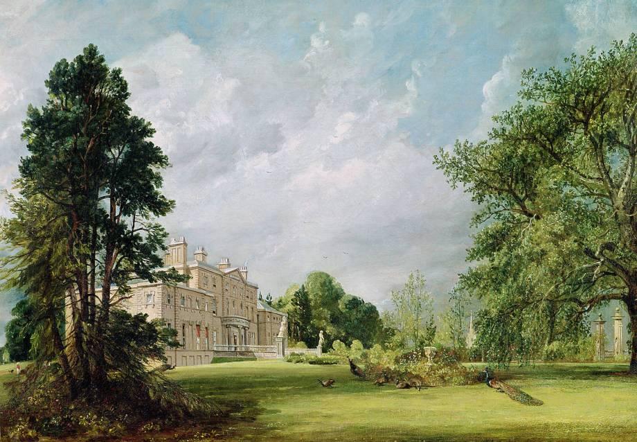 Malvern Hall, Warwickshire by John Constable – Art print, wall art ...