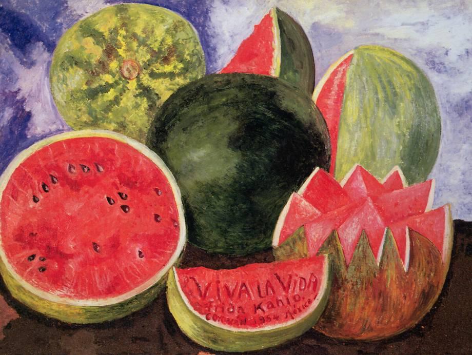 Viva La Vida By Frida Kahlo Art Print Wall Art Posters And Framed Art