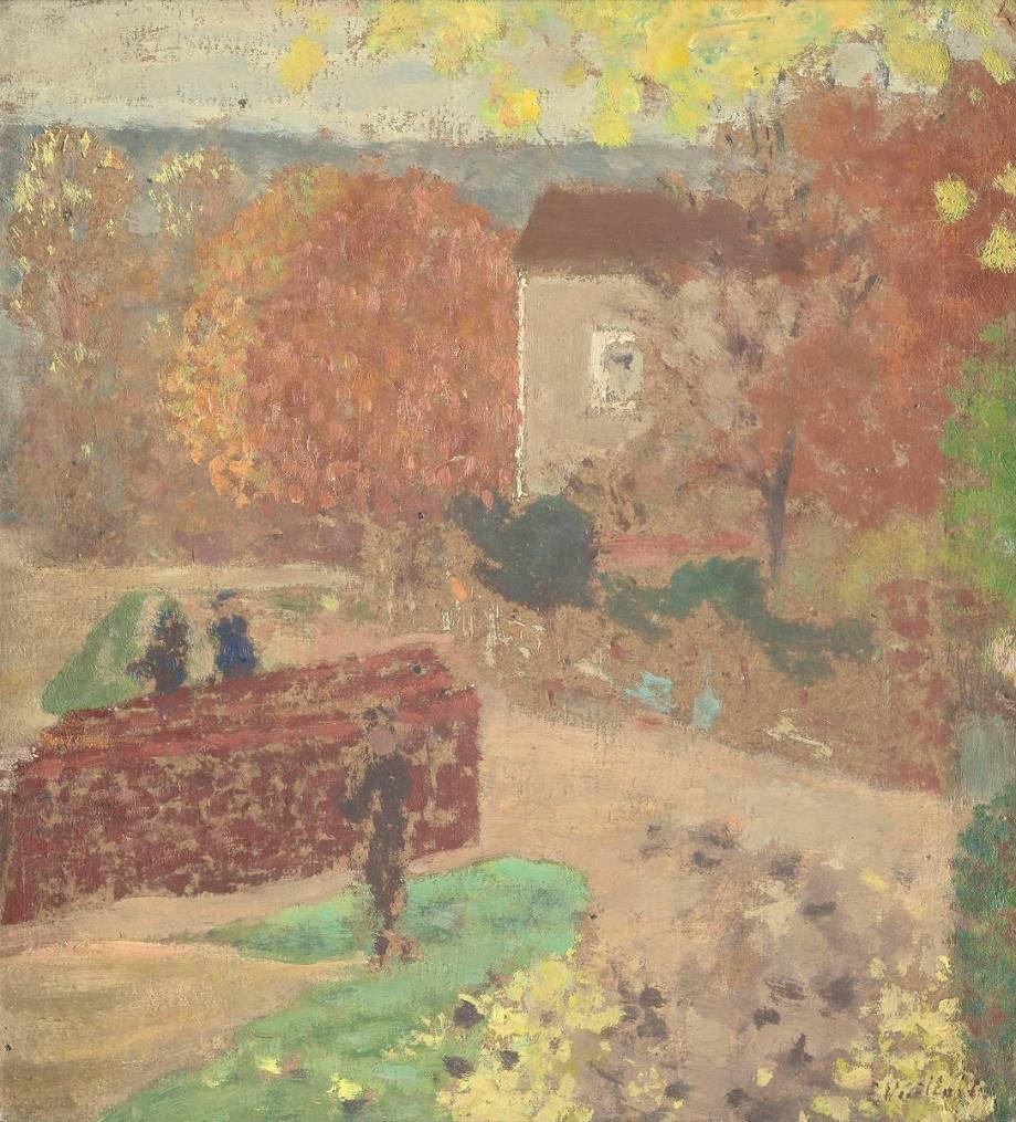 La maison de mallarm valvins by vuillard edouard art for Art maison la thuile