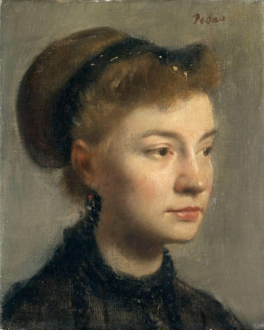 Portrait de jeune femme by Edgar Degas – Art print, wall art, posters and  framed art
