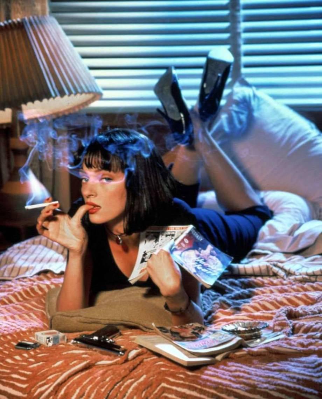 Uma Thurman Pulp Fiction 1994 Directed By Quentin Tarantino
