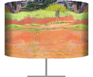Fatata te Moua (At the Foot of the Mountain) (Paul Gauguin) - Muzeo.com