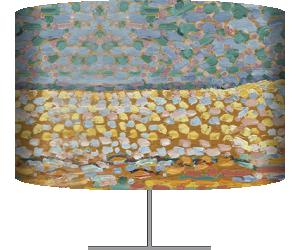 Pointillist Dune Study (Mondrian Piet) - Muzeo.com