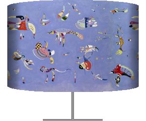 Sky Blue (Wassily Kandinsky) - Muzeo.com