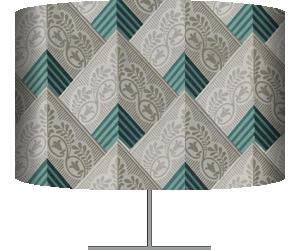Motif répétitif à ornements géométriques (anonyme) - Muzeo.com