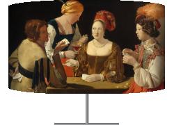 Le Tricheur à l'as de carreau (Georges de La Tour) - Muzeo.com