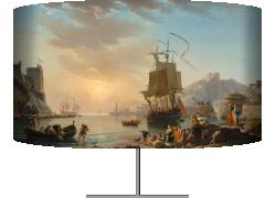 Marine, soleil couchant (Vernet Joseph) - Muzeo.com
