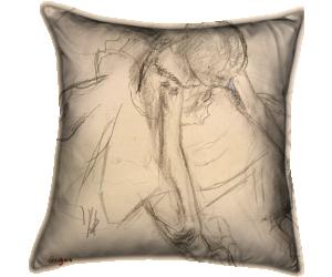Danseuse assise, essayant ses pointes (Degas Edgar) - Muzeo.com