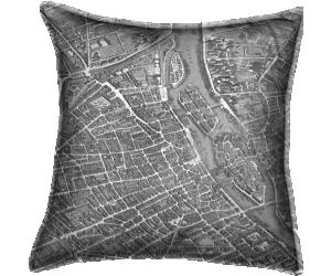 Turgot map of Paris (Claude Lucas) - Muzeo.com