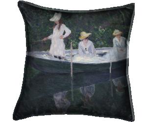En norvégienne, ou la Barque à Giverny (Claude Monet) - Muzeo.com