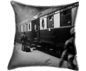 L'arrivée du train de luxe à la gare de Lyon à Paris (anonyme) - Muzeo.com