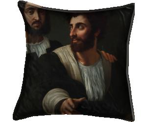 Raphaël et son maître d'arme (anonyme) - Muzeo.com