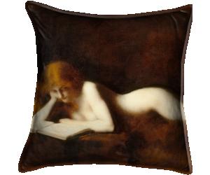 La liseuse (Henner Jean Jacques) - Muzeo.com