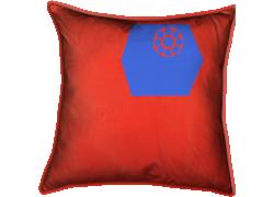 Cadrans bleus dans boîtes rouges (Lenore Laine) - Muzeo.com