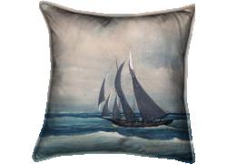 Boat in the storm (Bancel La Farge) - Muzeo.com