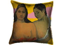 Deux tahitiennes (Paul Gauguin) - Muzeo.com