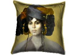 Tête de femme Biskra (Marie Caire) - Muzeo.com