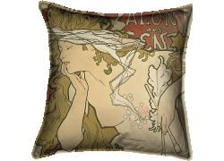 Affiche pour l'exposition du Salon des Cents (Alfons Mucha) - Muzeo.com