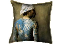 Japan , tattooed man (Baron Von Stillfried) - Muzeo.com