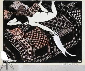 La paresse (Vallotton Félix) - Muzeo.com