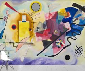 Yellow, Red, Blue (Kandinsky Wassily) - Muzeo.com