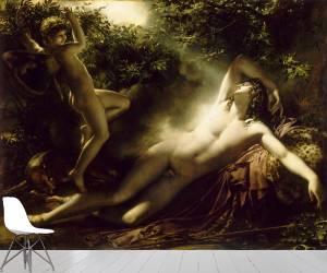 Endymion, effet de lune dit aussi Le Sommeil d'Endymion (Girodet Anne-Louis) - Muzeo.com