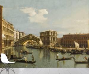 Le Pont du Rialto (Antonio Canaletto) - Muzeo.com