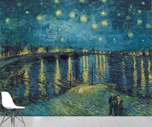 Starry Night over the Rhone (Vincent Van Gogh) - Muzeo.com