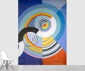 Rythme n°3, décoration pour le Salon des Tuileries (Delaunay Robert) - Muzeo.com