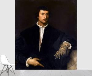 L'homme au gant (Tiziano) - Muzeo.com