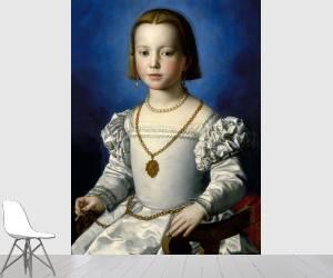 Portrait of Bia de' Medici (Bronzino) - Muzeo.com