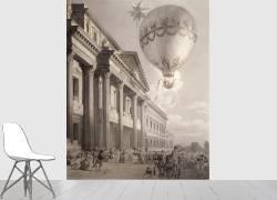 Ascension en ballon de madame Blanchard (Baltard de la Fresque...) - Muzeo.com