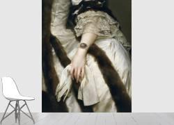 Portrait of Marie Caroline of Austria (detail) (Anton Raphael Mengs) - Muzeo.com