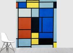 Tableau No.1 (Piet Mondrian) - Muzeo.com