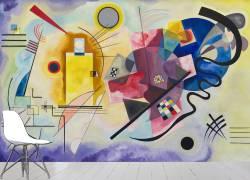Yellow, Red, Blue (Wassily Kandinsky) - Muzeo.com