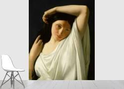 Jeune fille en buste (Flandrin Hippolyte) - Muzeo.com