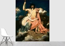 Jupiter et Thétis (Ingres Jean-Auguste-Dominique) - Muzeo.com