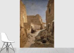 Une rue à El-Aghouat ou Laghouat (Eugène Fromentin) - Muzeo.com