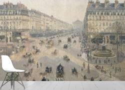 Avenue de l'Opéra, soleil, matinée d'hiver (Pissarro Camille) - Muzeo.com
