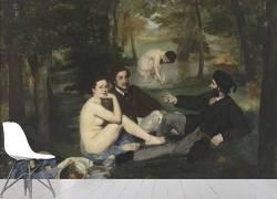 Le Déjeuner sur l'herbe (Manet Edouard) - Muzeo.com