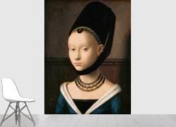 Portrait of a young lady (Christus Petrus) - Muzeo.com