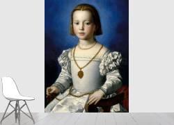 Portrait of Bia de Medici (1537-1542) (Bronzino) - Muzeo.com