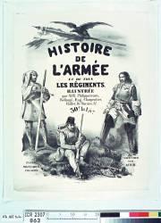 Histoire de l'armée et de tous les régiments (HE [Monogramme] (18..-18.. ;...) - Muzeo.com