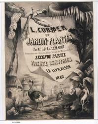 L. Curmer. Le Jardin des Plantes (Marvy Louis , Beaucé Vivant) - Muzeo.com