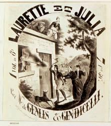 Laurette et Julia par Mme de Genlis et Giudicelli (Lalance Adolphe) - Muzeo.com