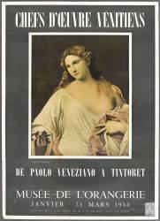 Affiche : Chefs d'oeuvre vénitiens de Paolo Veneziano à Tintoret (anonyme) - Muzeo.com